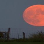 神秘的な月 ストロベリームーン2017!!