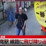 野崎芳正の顔画像公開!動機や勤務先、家族は?盗撮疑われ、新宿線路に逃げた男