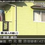 竹元龍治の顔画像やSNSの特定か!?動機は2人は同性愛だった?暴行し殺害容疑で逮捕!